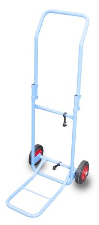 Wózek transportowy stalowy składany