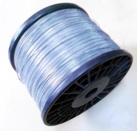 Drut ocynkowany do plomb w oplocie z drutu, 0,3x0,6mm /odcinki